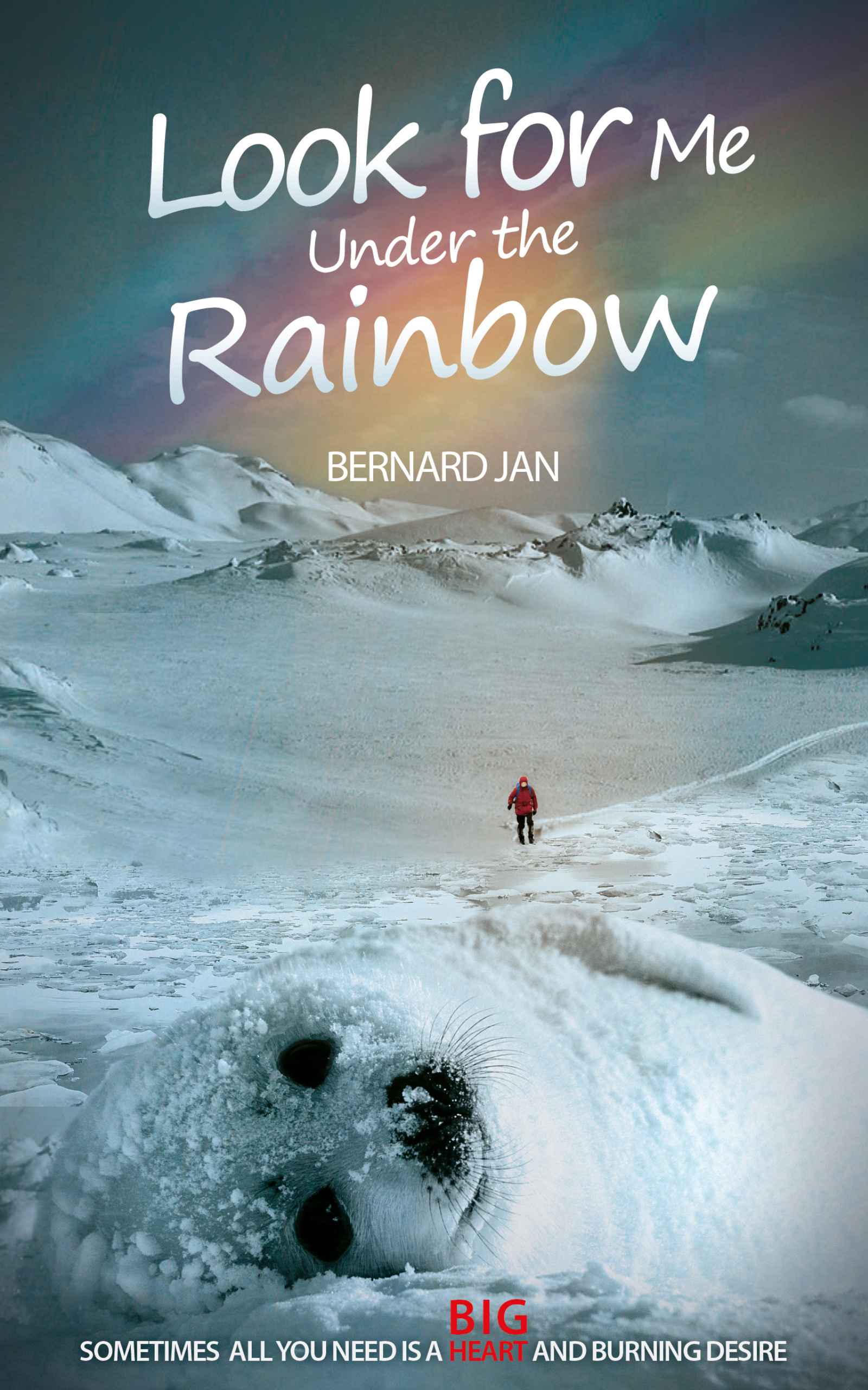 LOOK FOR ME UNDER THE RAINBOW - eBOOK AMAZON COVER 2560x1600 pixels